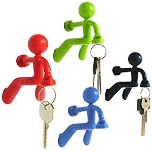 4PC Magnetic Men Key Holders