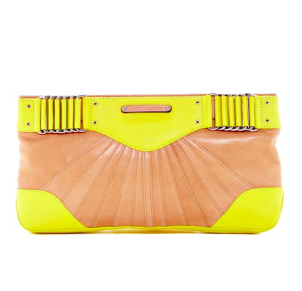 Rebecca Minkoff Collection Park Ave Leather Clutch