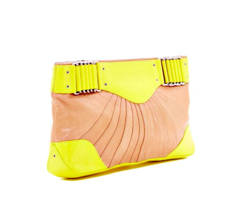 Rebecca Minkoff Collection Park Ave Leather Clutch - Boho Bohemian Decor