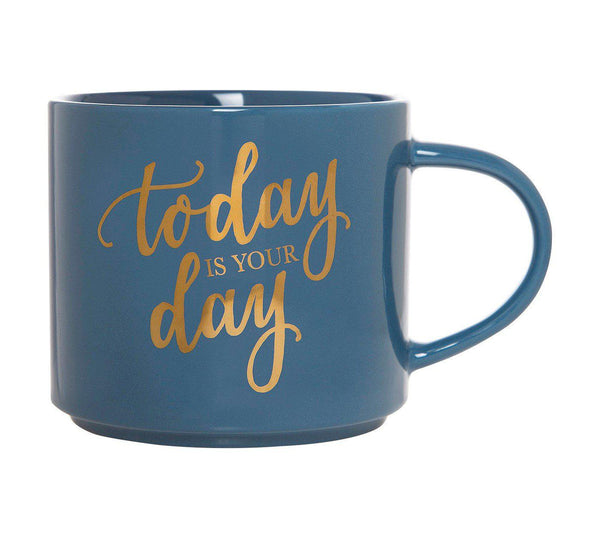 Today Is Your Day Stackable Coffee Mug-GoGetGlam