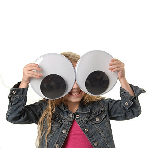 "Pack of 2 Huge XXL 7"" Wiggly Googly Eyes-GoGetGlam"