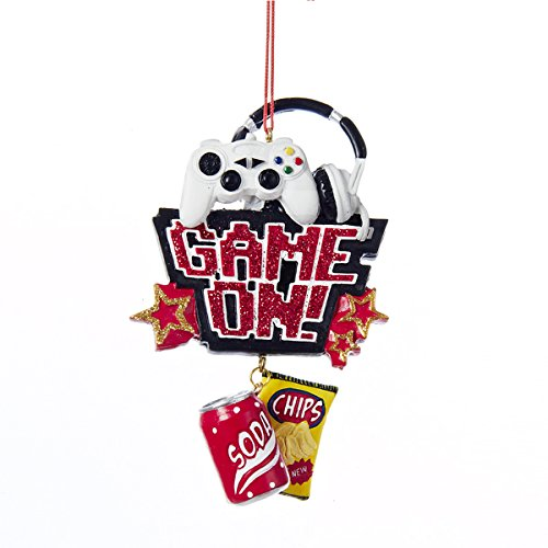Kurt Adler Game On Gamer Christmas Ornament