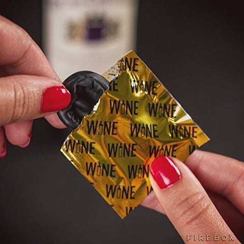 Box of 6 Wine Condoms The Safer Wine Stoppers