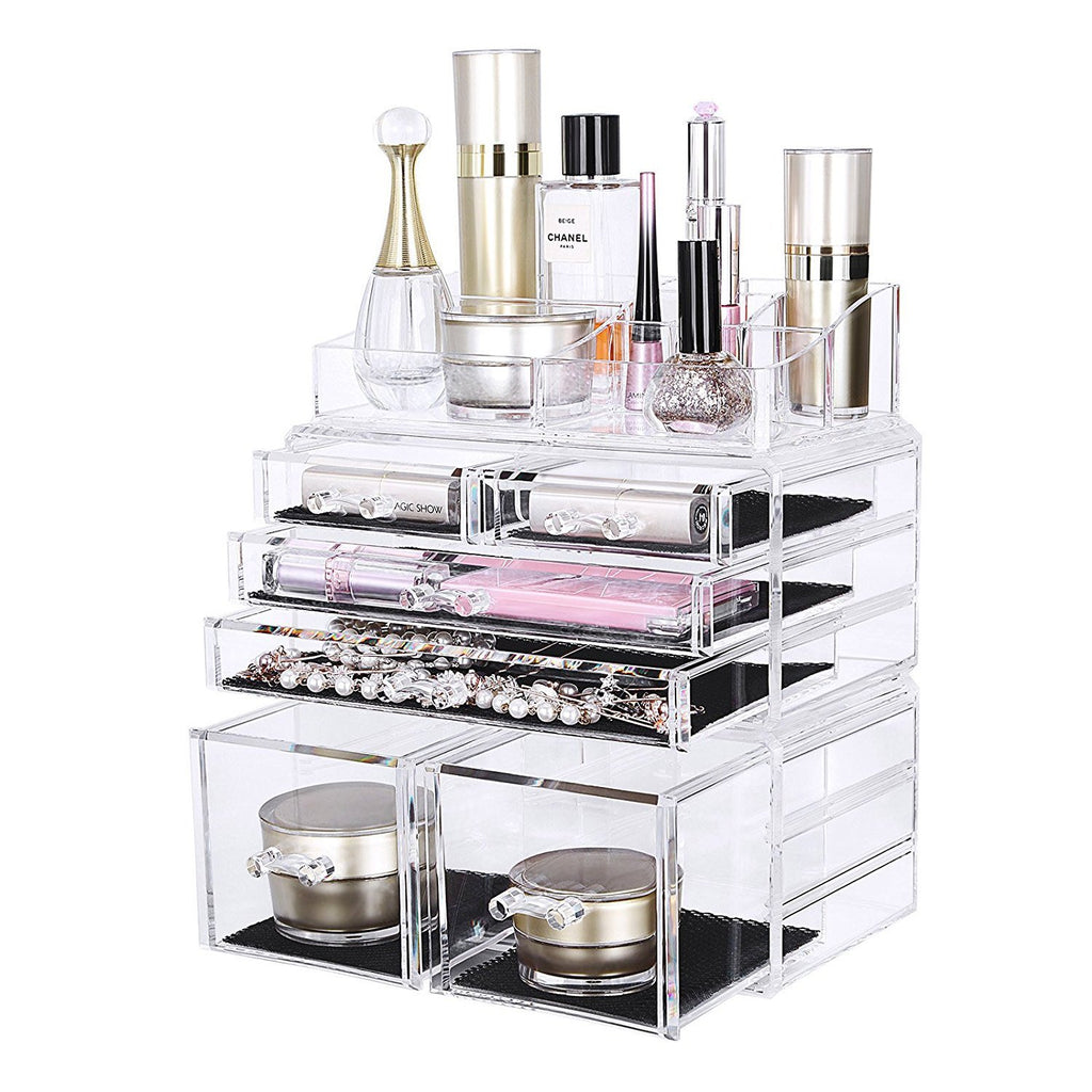 6 Drawer Plus Acrylic Makeup Storage Unit