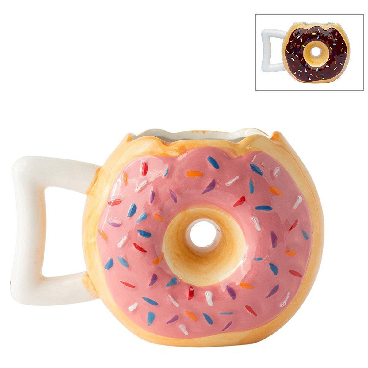 Frosted Donut Coffee Mug-GoGetGlam