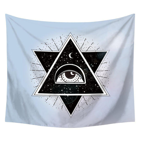 All Seeing Eye In The Sky Boho Tapestry-GoGetGlam