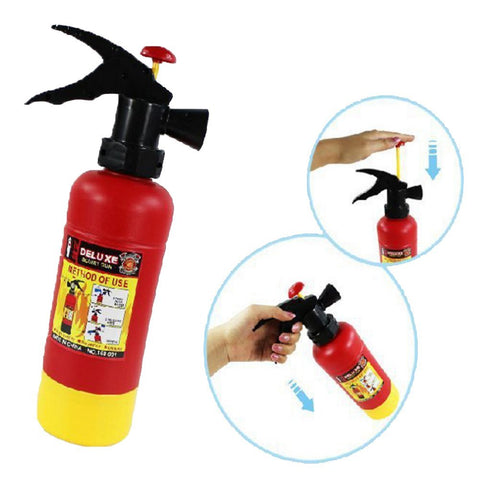 Toy Fire Extinguisher Water Gun - Boho Bohemian Decor