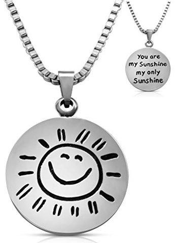 My Sunshine Best Friends 2 PC Chain Charm Necklace SET-GoGetGlam