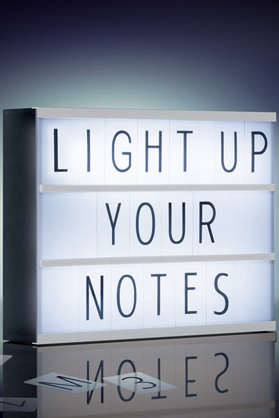 Personal Message LED Light Box-GoGetGlam