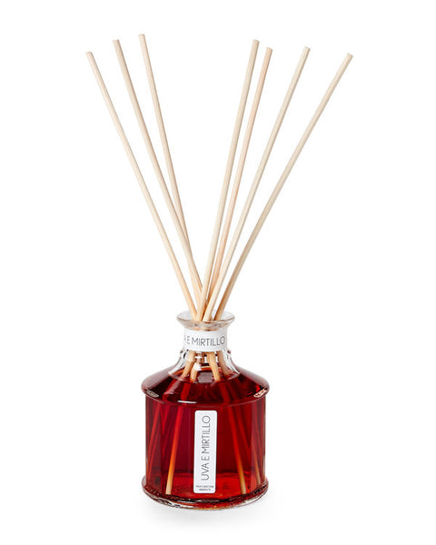 ERBARIO TOSCANO Italy Grape & Bilberry Reed Diffuser - GoGetGlam Boho Style