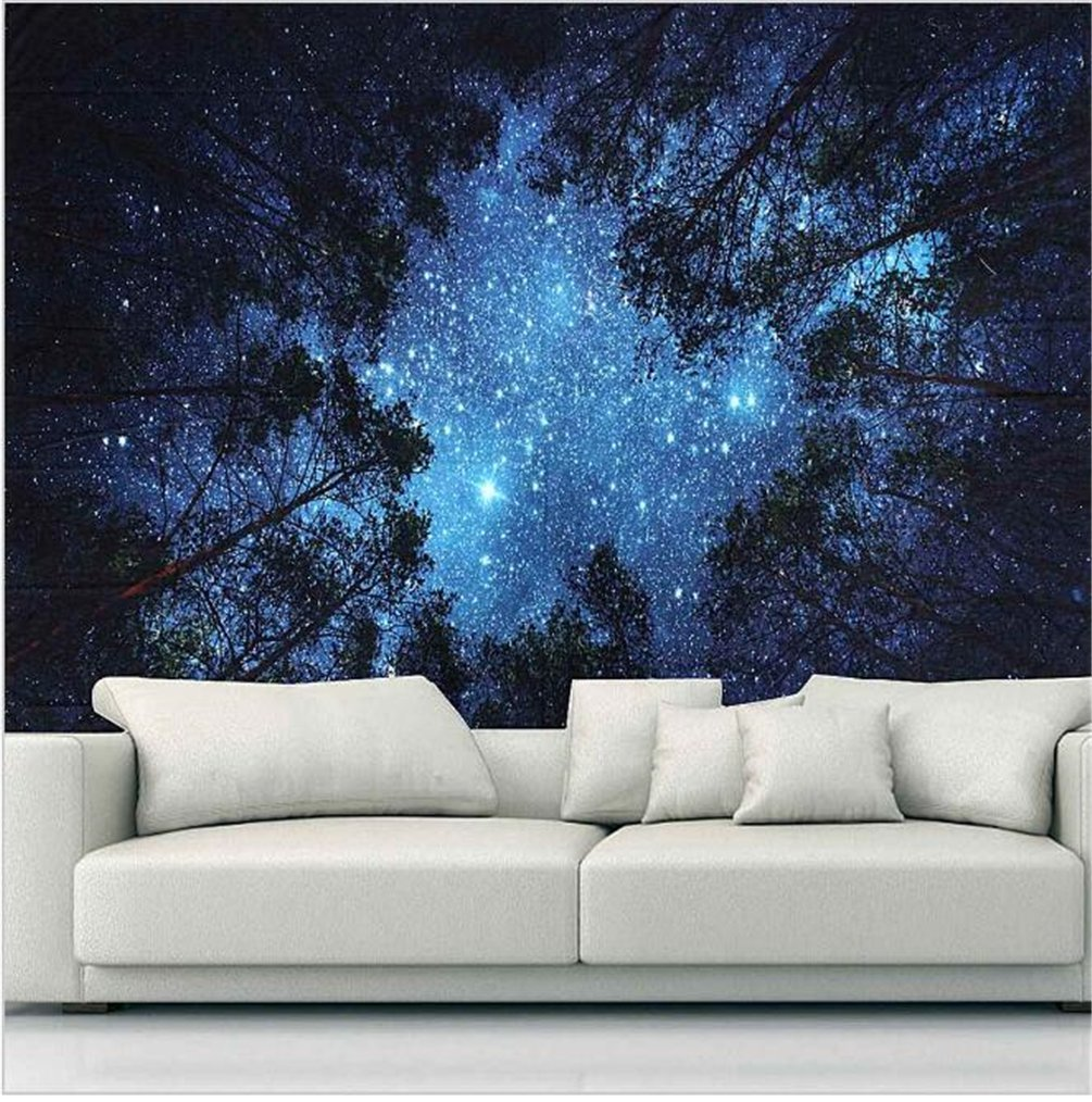Beneath The Stars Fabric Wall Tapestry-GoGetGlam