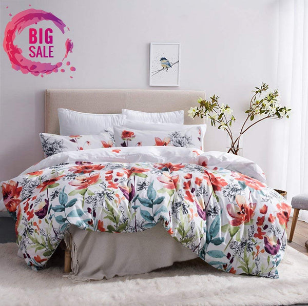 Floral Fantasy Duvet Bedding Set