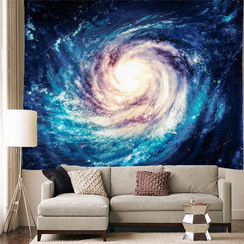 Celestial Gateway Space Wall Tapestry - GoGetGlam Boho Style