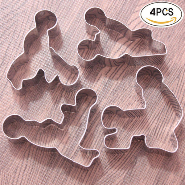 Sexy Time Gingerbread Cookie Cutter Set