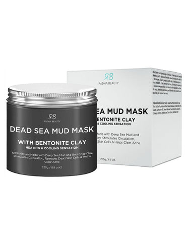 Dead Sea Mud Mask with Bentonite Clay Mask Treatment