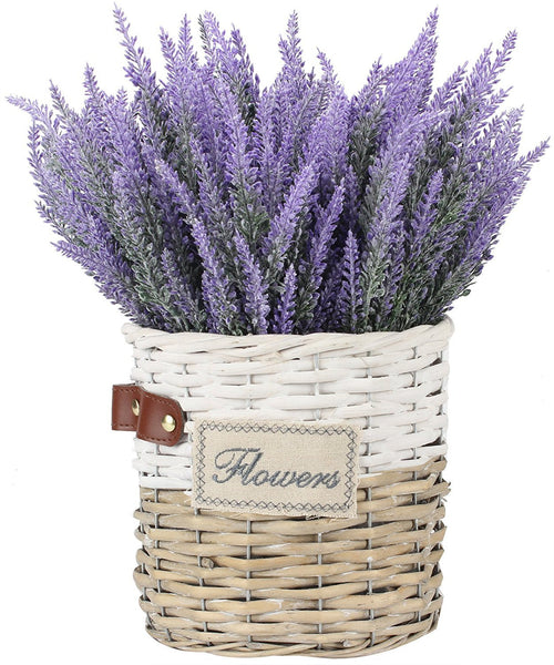 8 Bundle Faux Lavender Bouquet-GoGetGlam