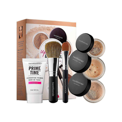 bareMinerals Up Close & Beautiful 30-Day Complection 6-Piece Starter Kit - Fairly Light-GoGetGlam