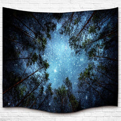 Celestial Forest Boho Wall Tapestry-GoGetGlam
