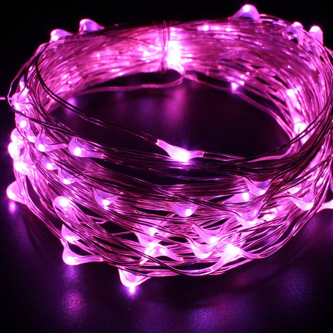 33FT Pink LED Fairy String Lights-GoGetGlam
