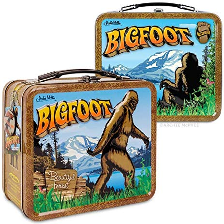Believe In Bigfoot Lunch Box