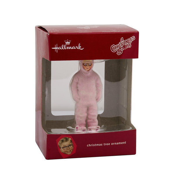 Hallmark Christmas Story Ralphie in Bunny Suit Christmas Ornament