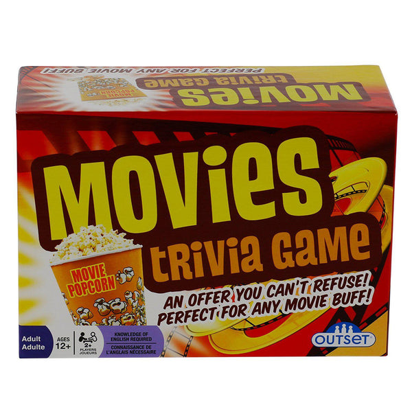 Movies Trivia 1200 Questions Card Game-GoGetGlam
