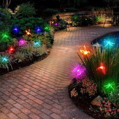 3PC Spring Theme Color Changing LED Solar Light Stakes-GoGetGlam
