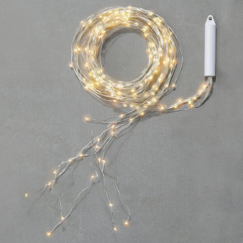 Fairy Fall Strand Silver Spray Falling Branch String Lights-GoGetGlam