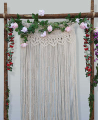 Boho Macrame Window Door Wall Panel-GoGetGlam