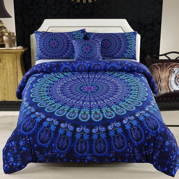 Boho Malia 4PC Tapestry Bedding Duvet Cover SET-GoGetGlam