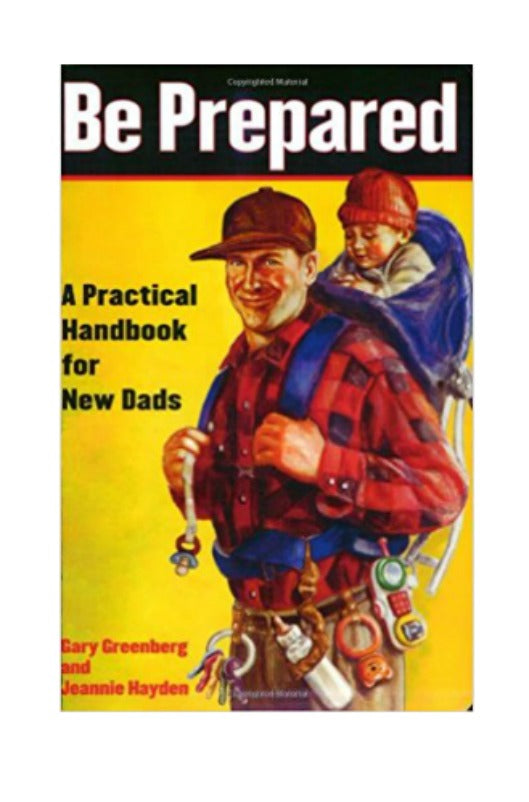 Be Prepared - A Guide Book For Dads To Be - Boho Bohemian Decor