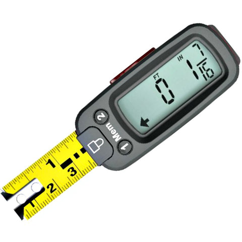 Sharper Image Easy Read Digital Tape Measure - GoGetGlam Boho Style