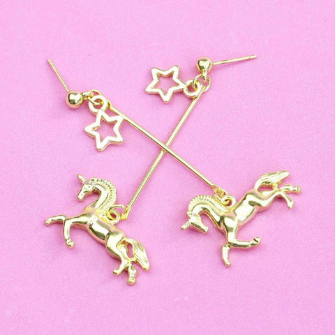 Unicorn Universe Dangle Earrings