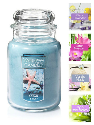 Yankee Candle Ocean Star Large Jar Candle