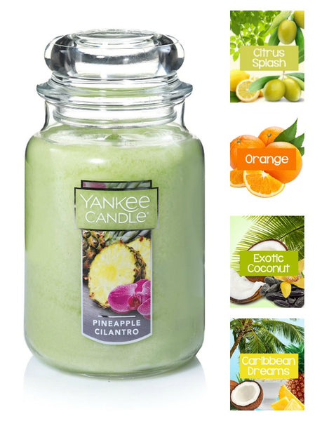 Yankee Candle Pineapple Cilantro Large Jar Candle