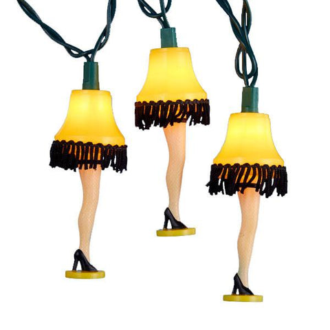 A Christmas Story Leg Lamp Party Lights - 10 Lights-GoGetGlam