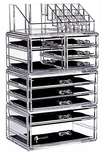 Acrylic 10 Drawer Ultra Makeup Organizer Storage Unit-GoGetGlam