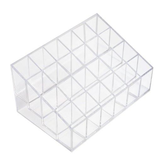 Acrylic Cosmetic Makeup Storage Display-GoGetGlam