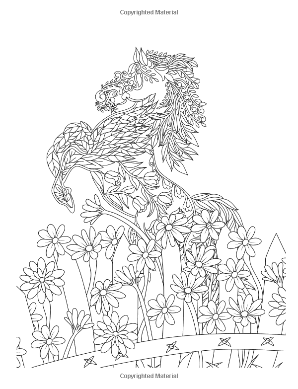 Adult Coloring Books Relaxing Nature