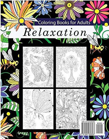 Adult Coloring Books: Relaxing Nature - GoGetGlam Boho Style