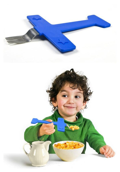 AIRFORK ONE Kids' Airplane Fork-GoGetGlam