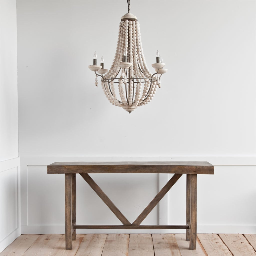 bohemian lighting. Bohemian Wood Beaded Chandelier Light. Previous Lighting .