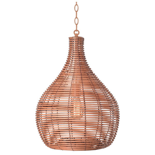 Designer's Choice Rattan Bohemian Pendant Light - Boho Bohemian Decor