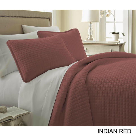 Bestselling 3PC Oversized Quilt Bed Set in 10 Colors-GoGetGlam