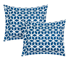 Alaya Boho Reversible Blue 8pc Comforter Sheet Bedding Set-GoGetGlam
