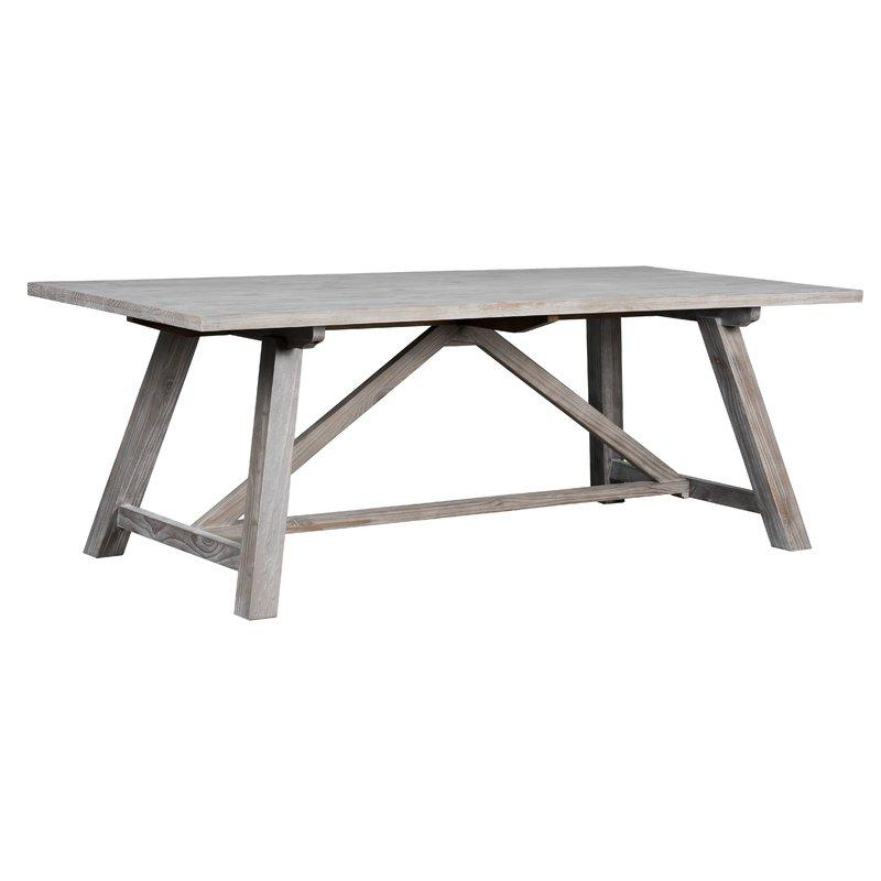 ASH Rustic Farm Style Dining Table - Boho Bohemian Decor