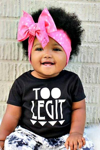 Baby Unisex Too Legit T-Shirt - Boho Bohemian Decor