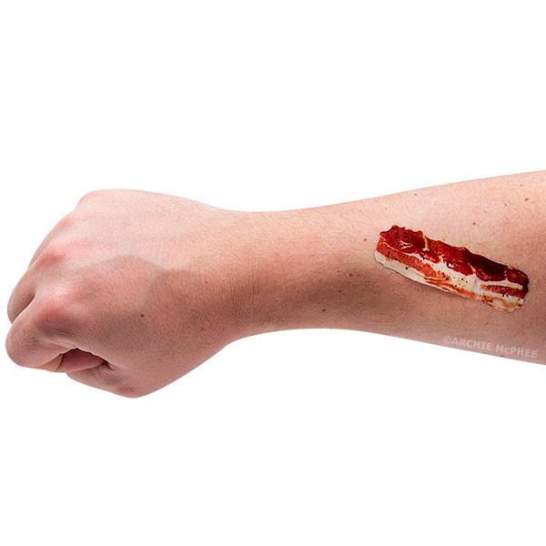 Bacon Makes It Better Adhesive Band-Aids Bandages-GoGetGlam