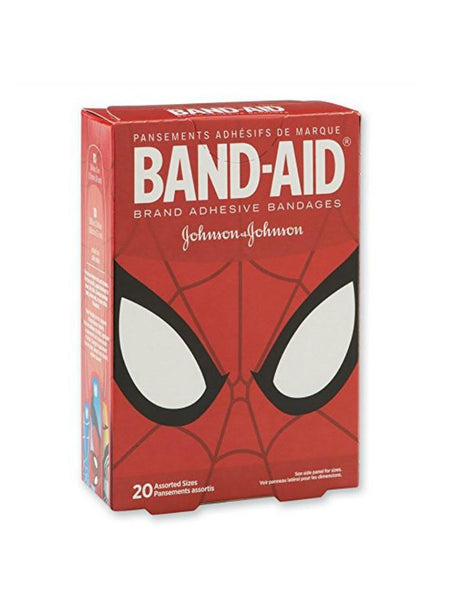 Band-Aid® Spider-Man Bandages-GoGetGlam