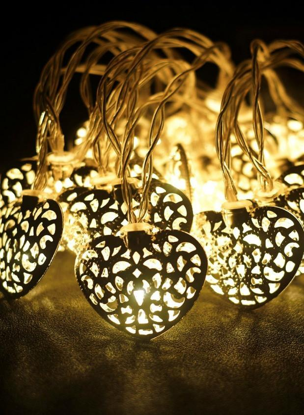 Battery operated 20 cut out heart string lights battery operated 20 cut out heart string lights previous aloadofball Gallery